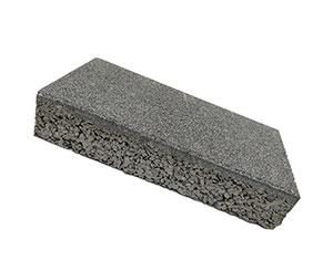 仿石透水砖中黑
