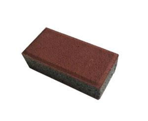 水泥透水砖暗红色